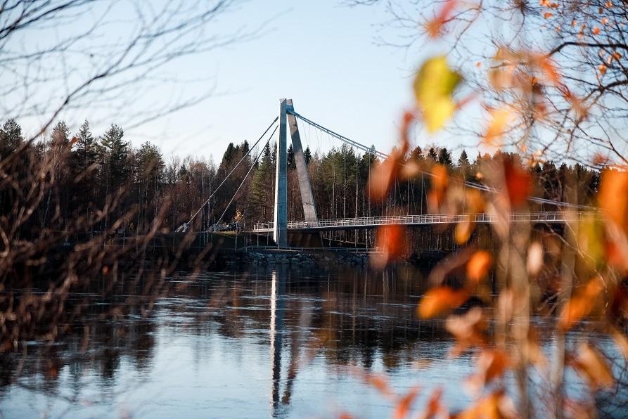 Bro i Umeå/Bridge in Umeå
