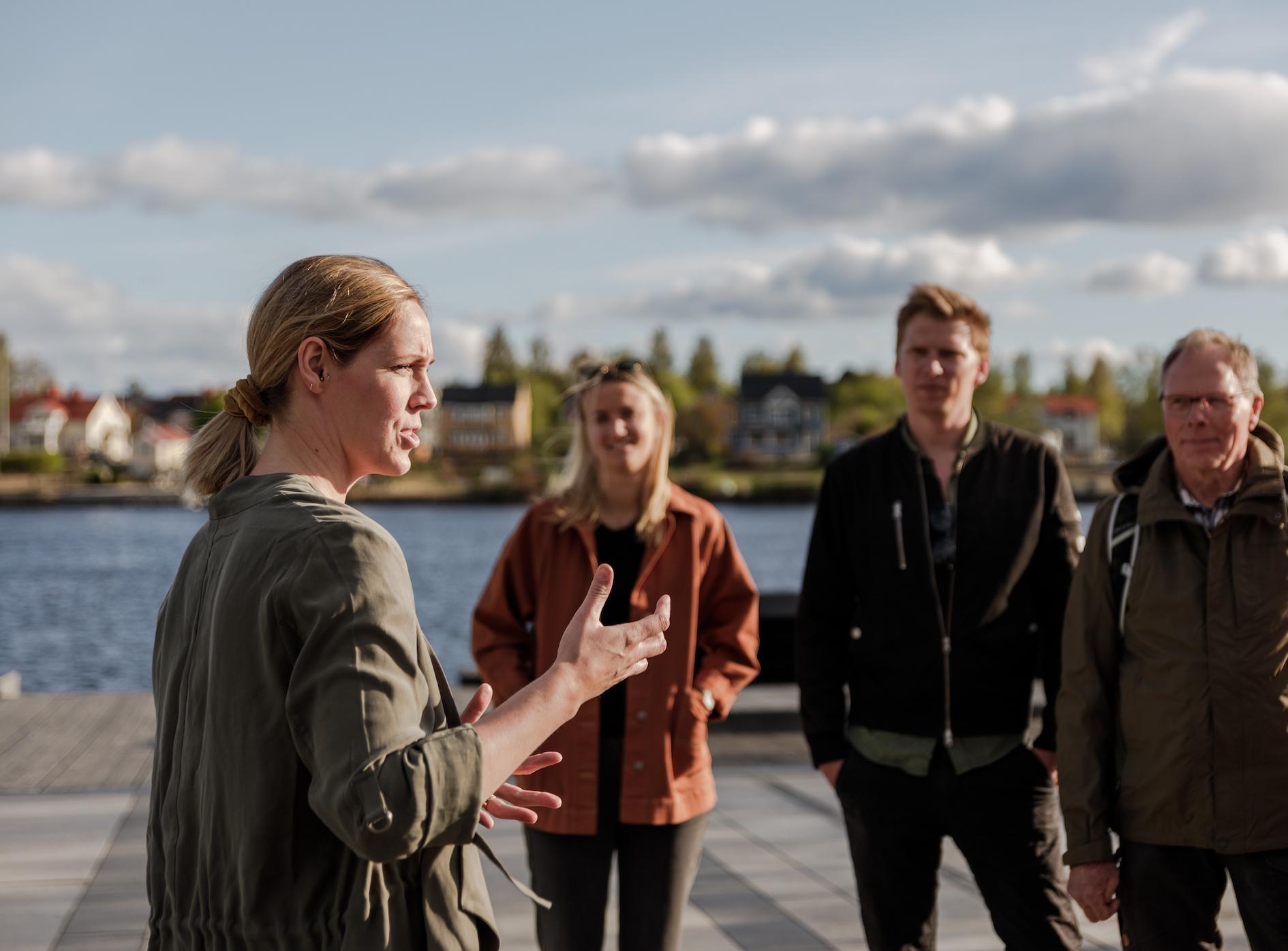 Guided City Tour Umeå/Stadsvandring Umeå
